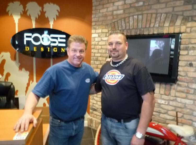 Johnni Hilde & Chip Foose